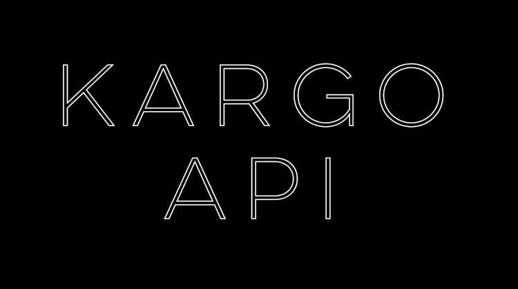 Kargo API Nedir?
